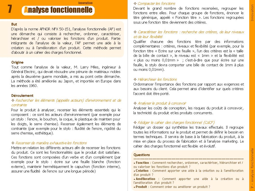 Cahier des charges analyse fonctionnelle - Cahier des charges definition ...