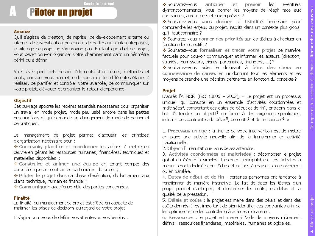 Comment piloter un projet d entreprise - Comment chiffrer un projet ...